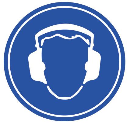 Bruit Protection Panneau Signalisation Obligatoire Entreprise Industrie